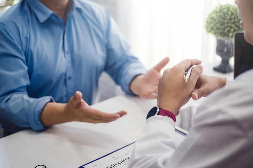 Wizyta pacjenta u urologa