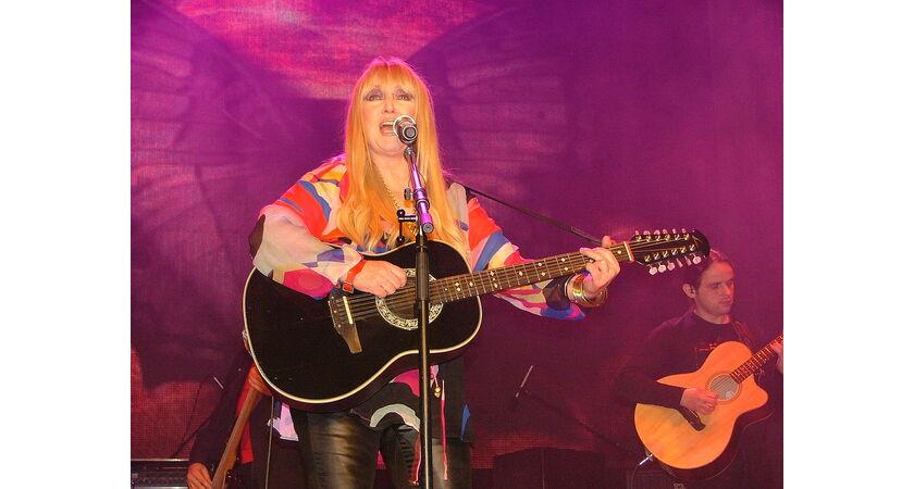 Maryla Rodowicz podczas koncertu
