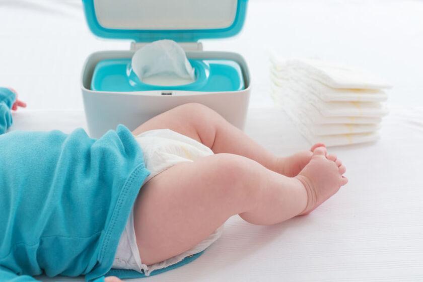 Chusteczki nawilżane dla niemowlaka