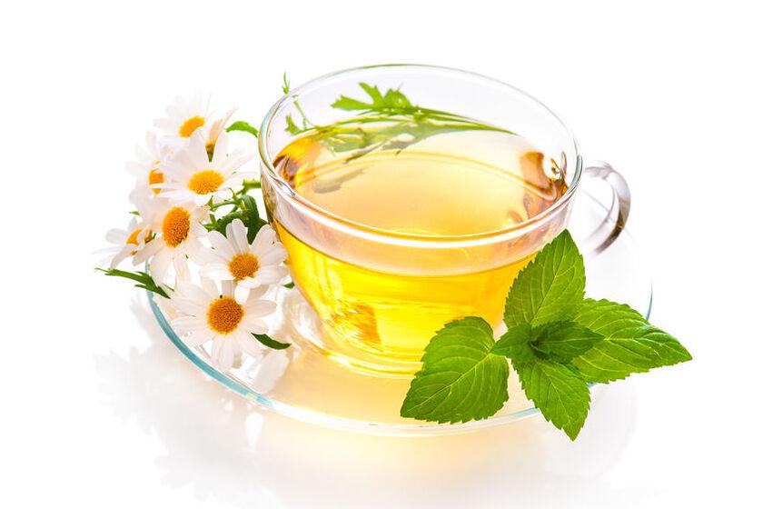 Filiżanka herbaty miętowej