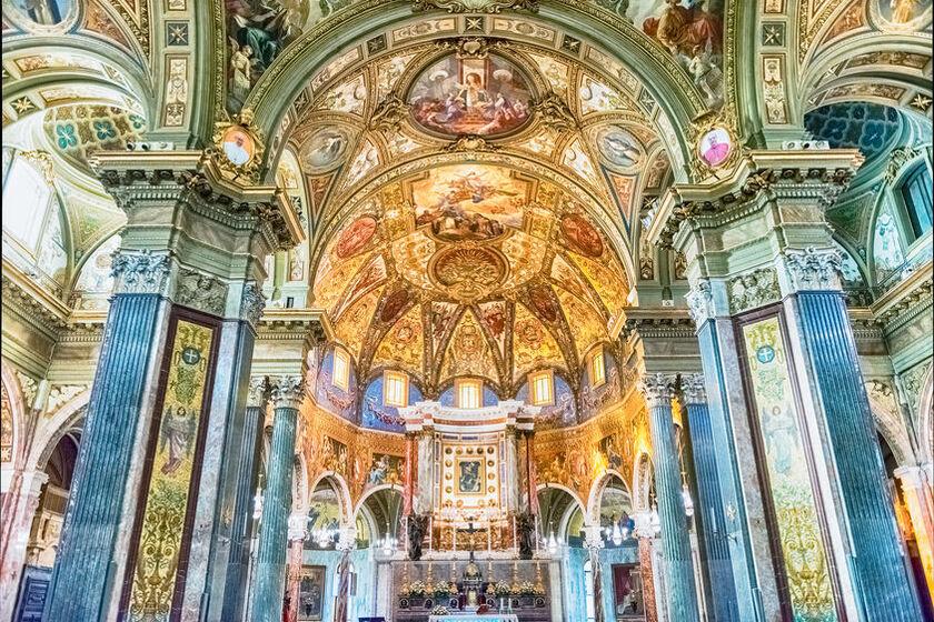 Bazyliki Matki Bożej Różańcowej w Pompejach
