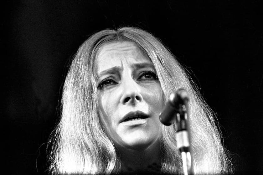 Wanda Warska podczas występu