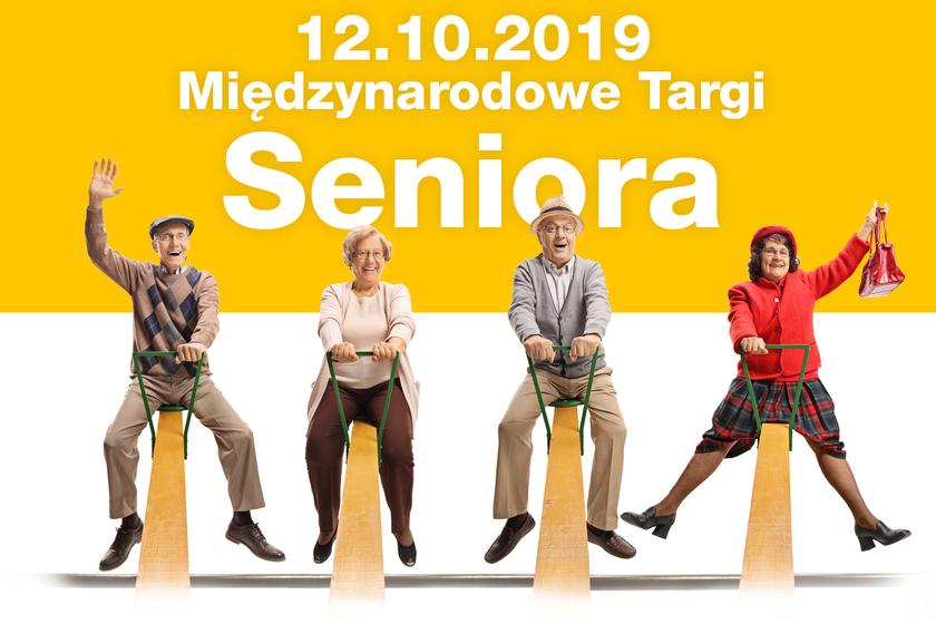 Międzynarodowe Targi Seniora w Kielcach - baner