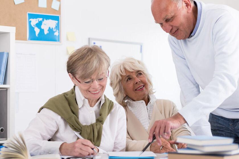 Seniorzy uczą się