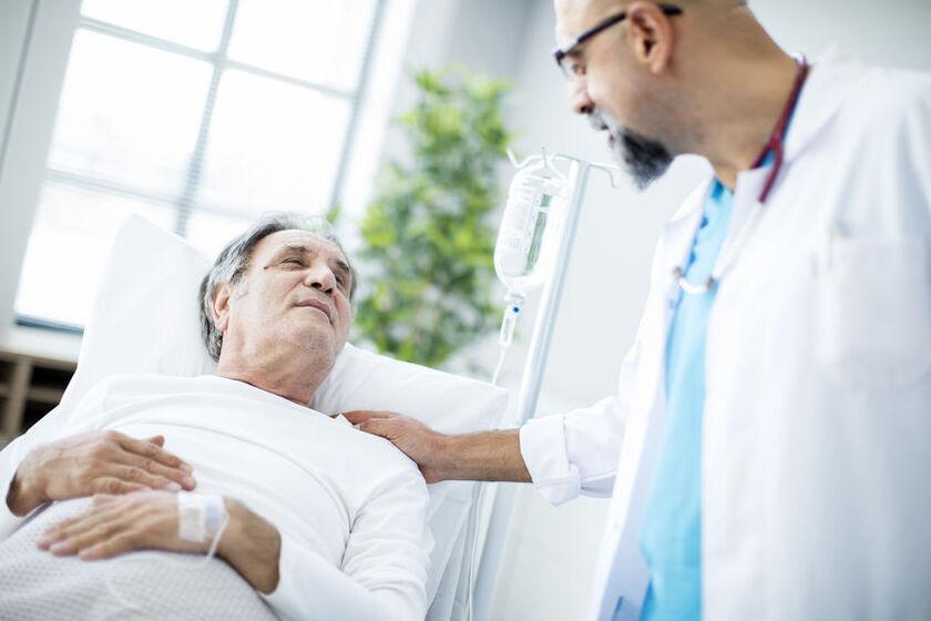 Pacjent z odleżynami