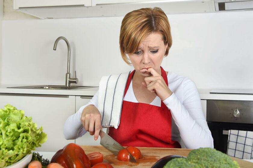 Rany w kuchni