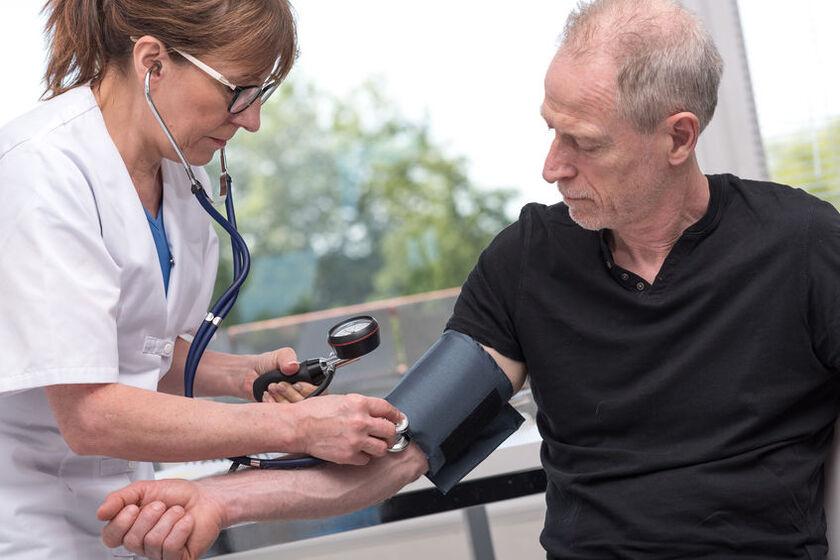 Badanie poziomu ciśnienia krwi