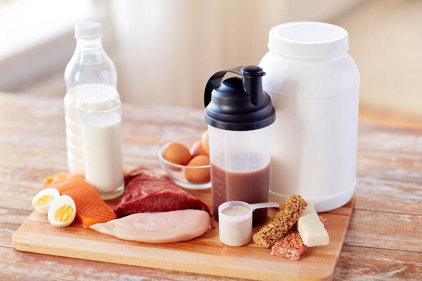 Źródła białka w diecie oraz odżywka białkowa