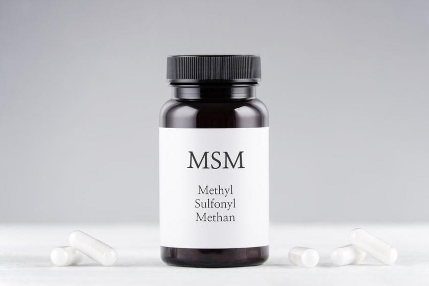 Pojemnik z tabletkami MSM