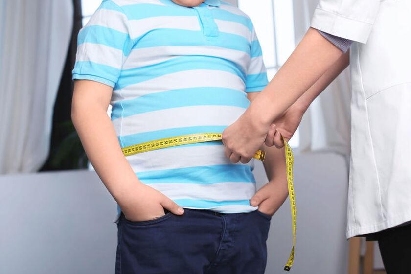 Dziecko na wizycie u dietetyka