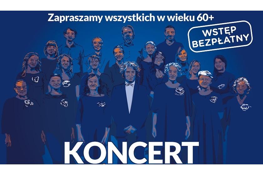 Plakat koncert chóru żydowskiego