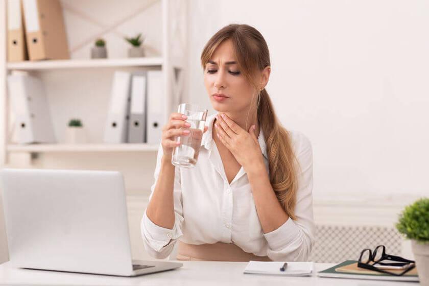 Srebro koloidalne do picia na ból gardła