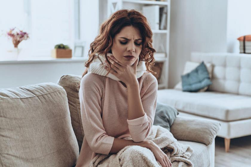Tabletki z porostem islandzkim na ból gardła
