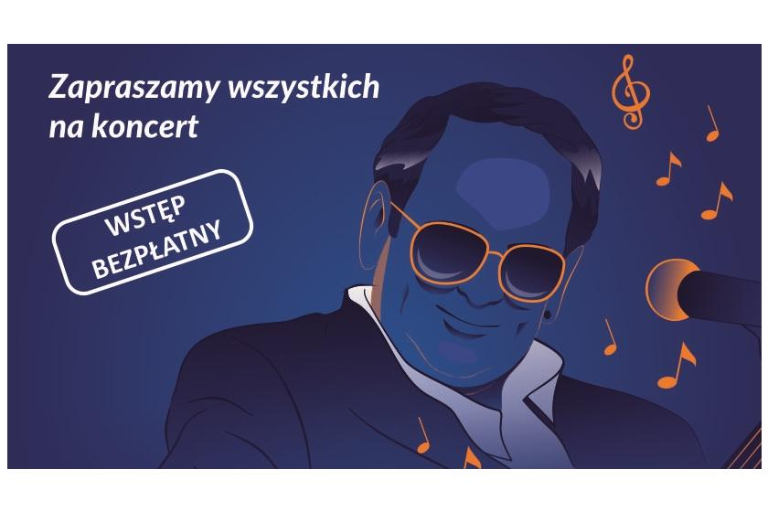 Plakat koncertu DOZ