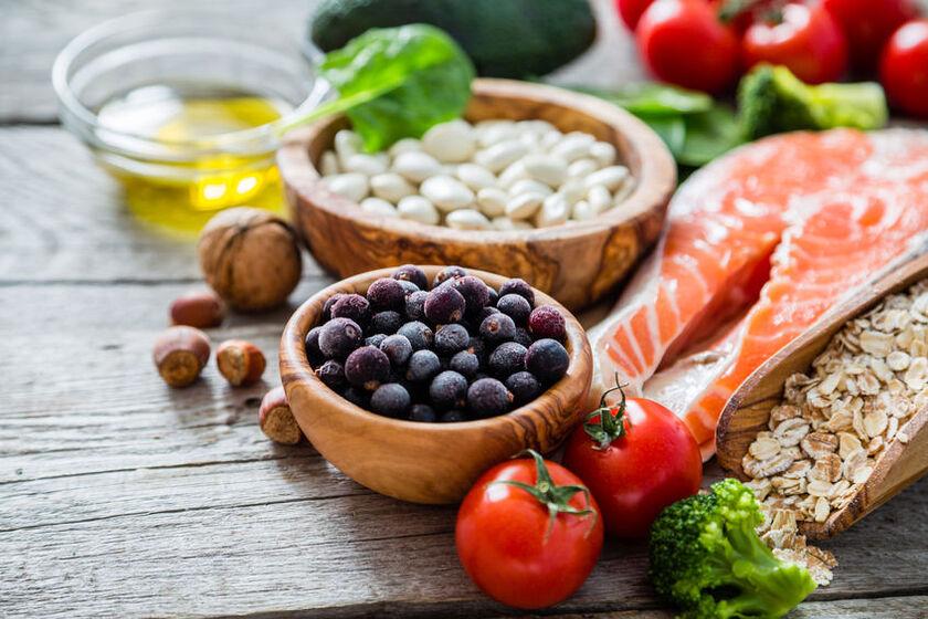Produkty zalecane przy menopauzie