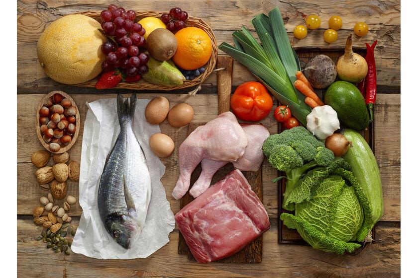 Produkty w diecie na masę