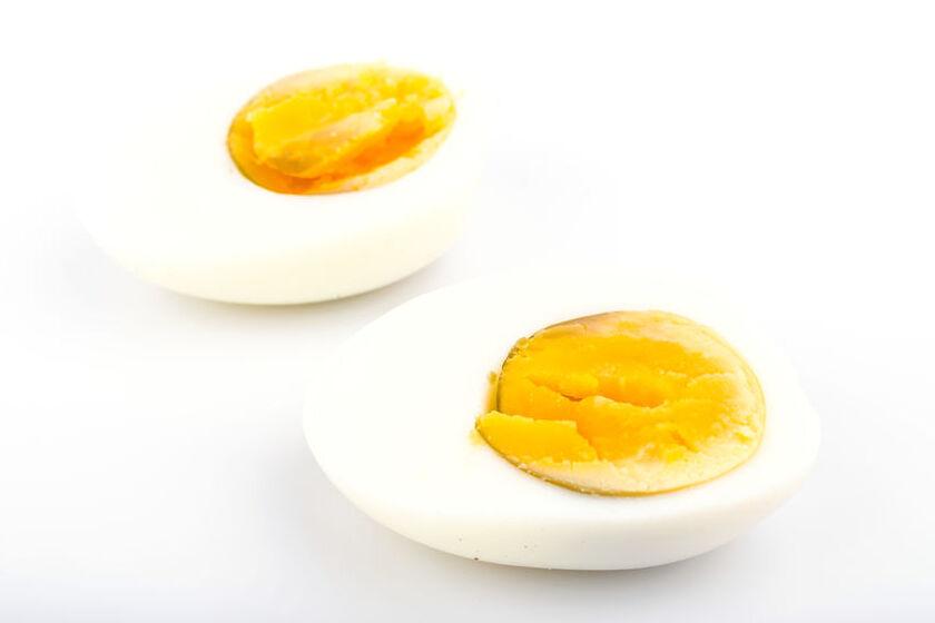 Jajko ugotowane na twardo