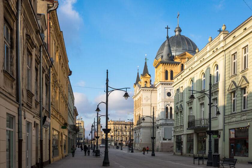 Łódź ulica Piotrkowska