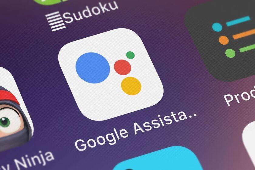 Ikona asystenta Googla