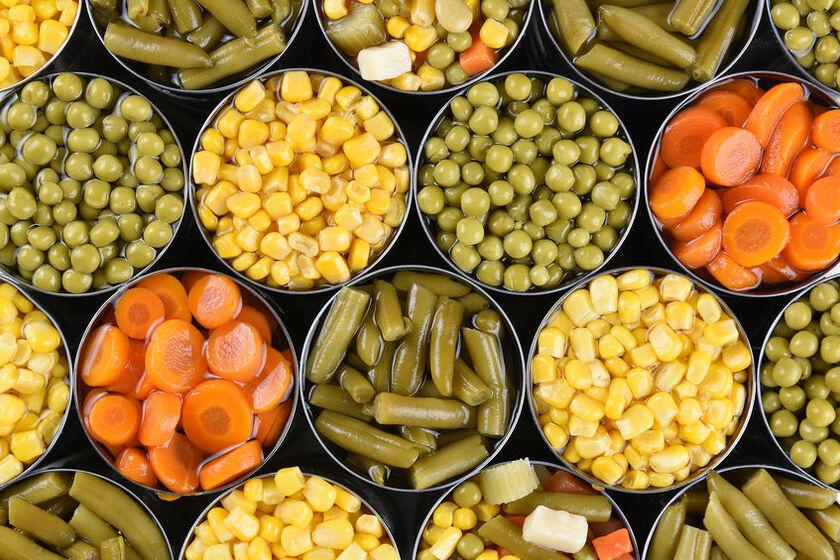 Warzywa w puszce