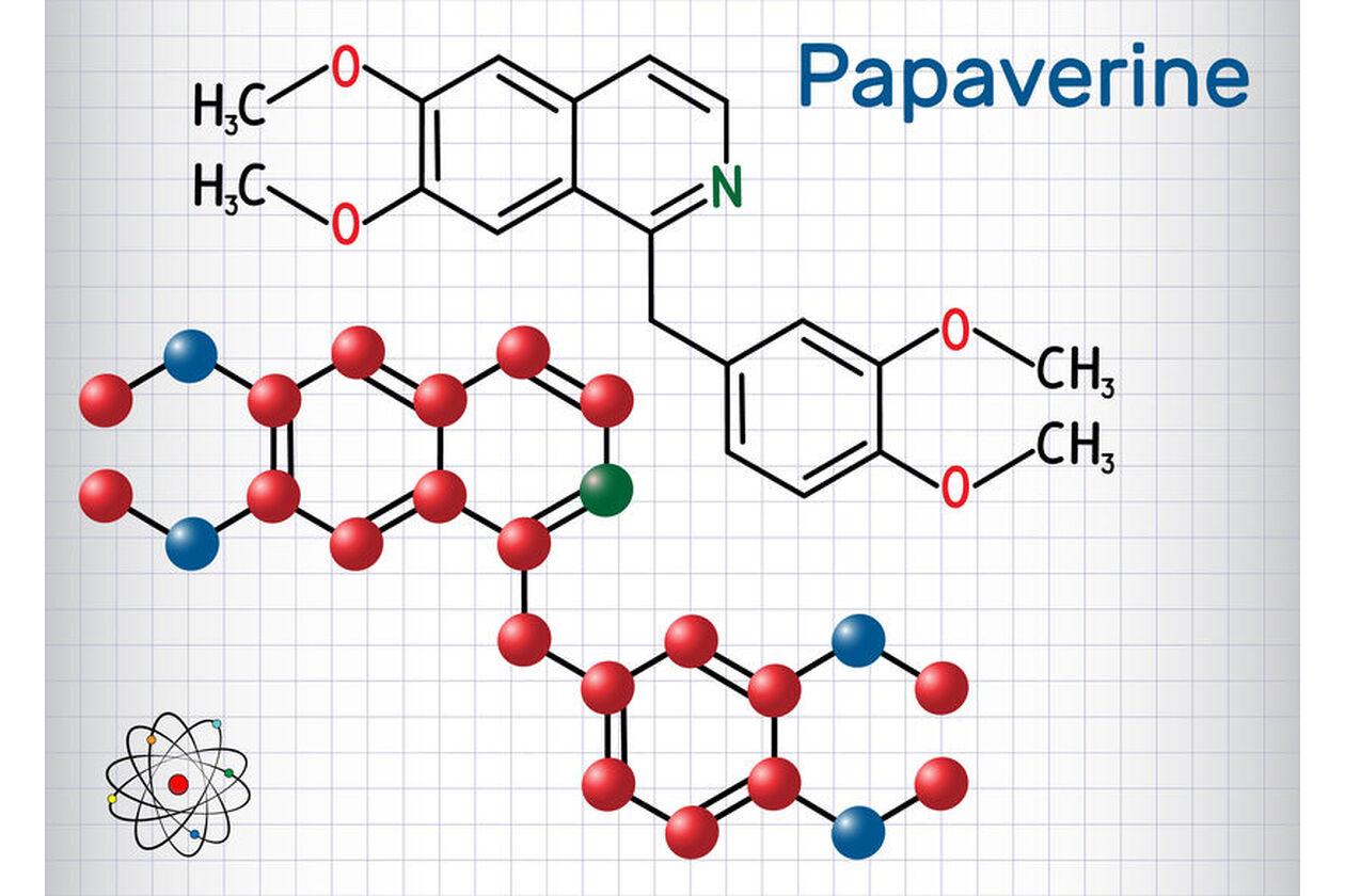 Wzór chemiczny papaweryny