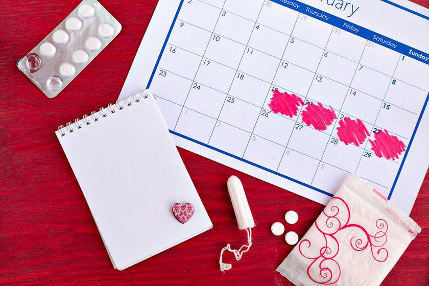 Kalendarz miesiączkowy