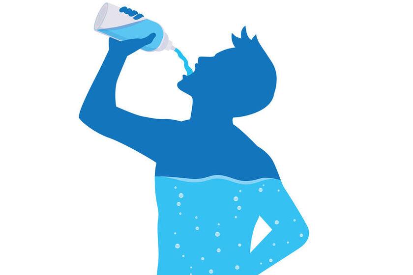 Zbyt wysoki poziom wody w organizmie
