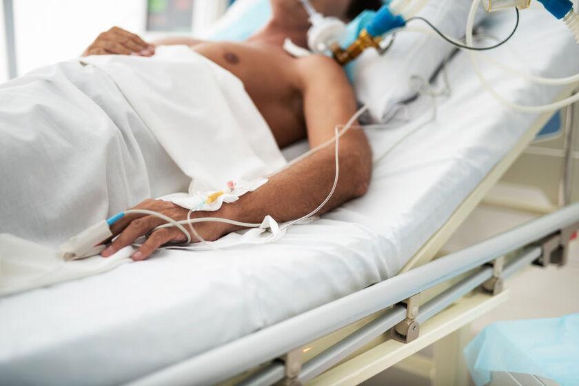Pacjent po wstrząsie hipowolemicznym