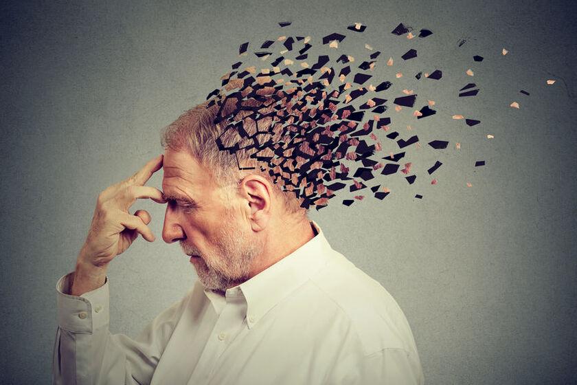 Pacjent z problemami z pamięcią