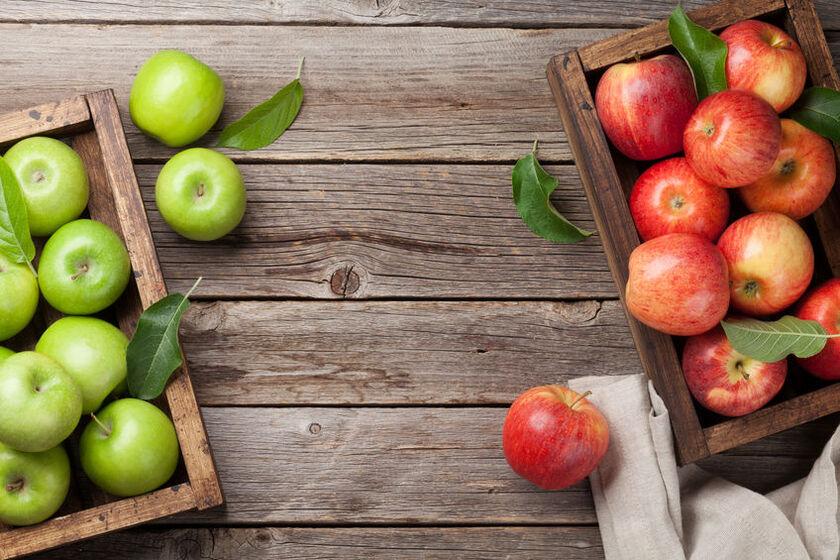 Jabłka należą do najbardziej sycących produktów spożywczych