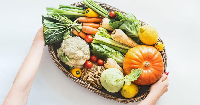 Jesienne warzywa i owoce