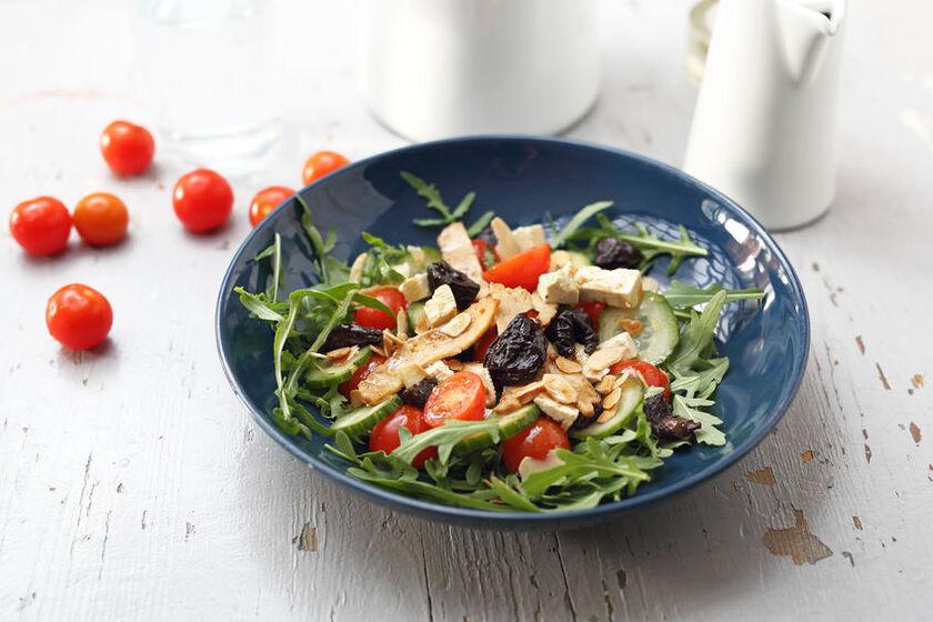 Produkty z diety wegetariańskiej