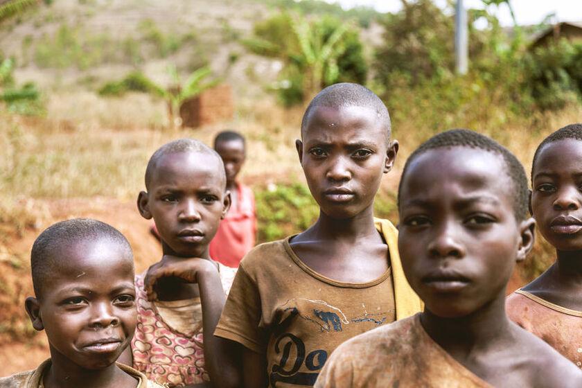 Dzieci i młodzież z Afryki