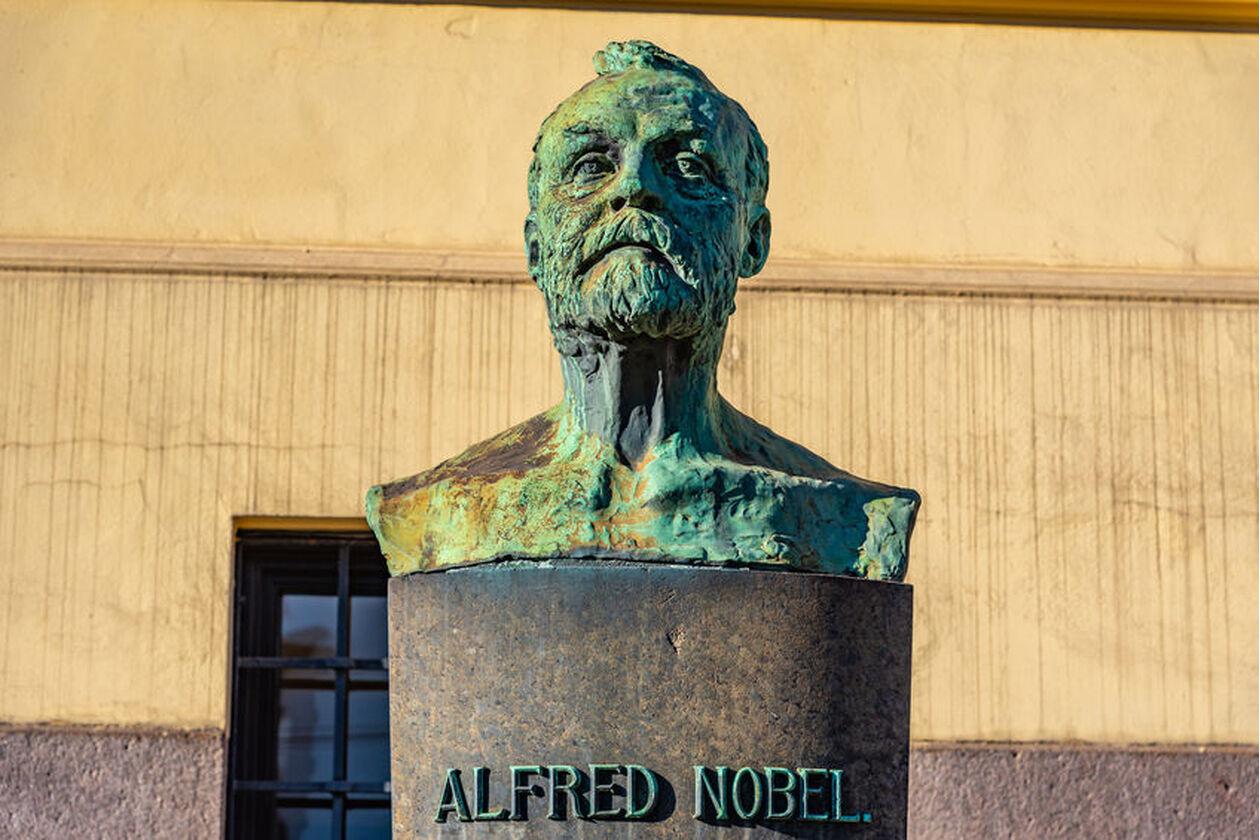 Popiersie Alfreda Nobla
