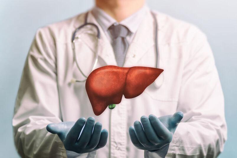 Lekarz hepatolog