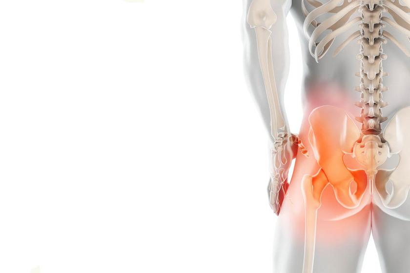 Miejsce występowania bólu biodra