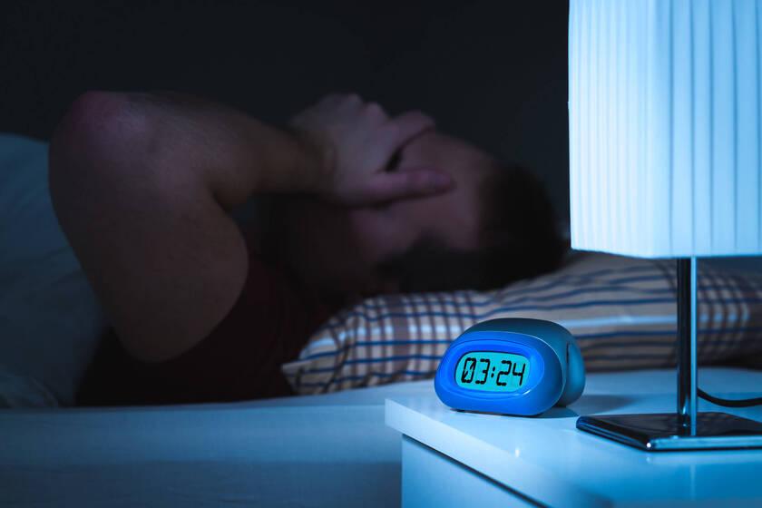 Mężczyzna obudził sięw nocy
