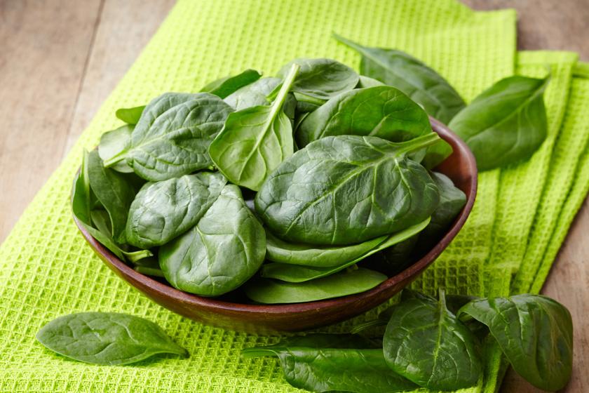 Szpinak - warzywo modne i wykwintne