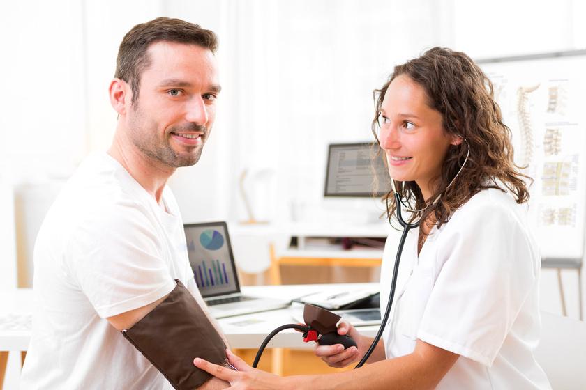 Pacjent z nadciśnieniem
