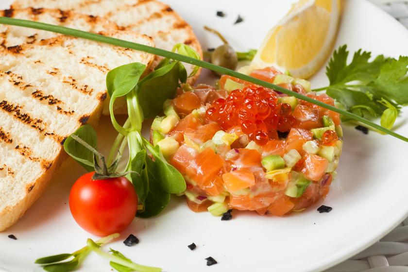 Tatar z łososia – danie z klasą