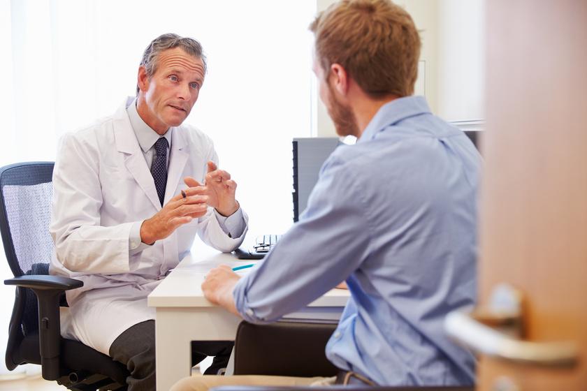 Wizyta u lekarza w sprawie kolonoskopii