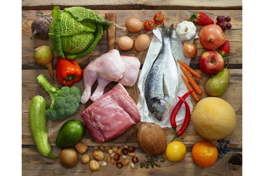 Produkty z diety paleo