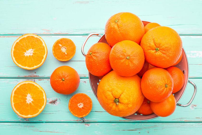 Pomarańcze i mandarynki