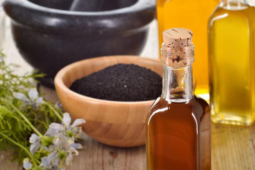 Nasiona i olej z rośliny czarnuszki