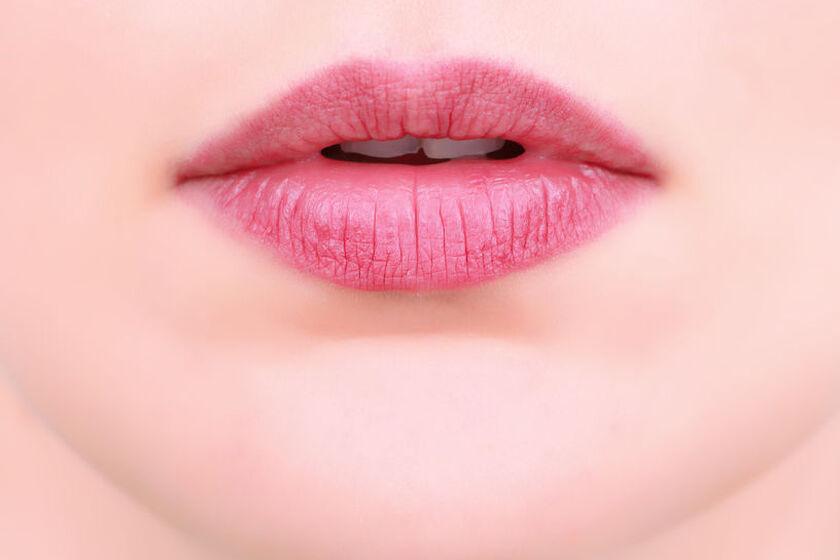 Usta u kobiety