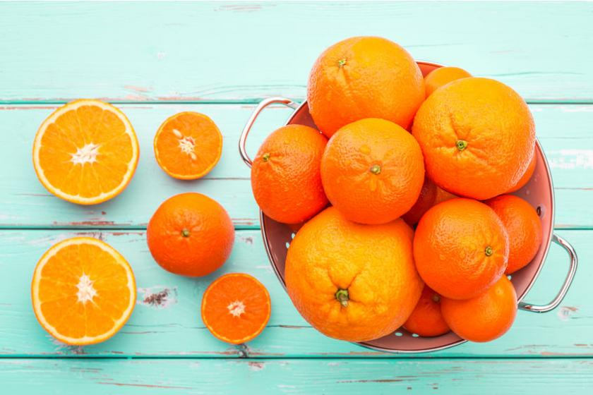 Pomarańcze to nauralne źródło witaminy C