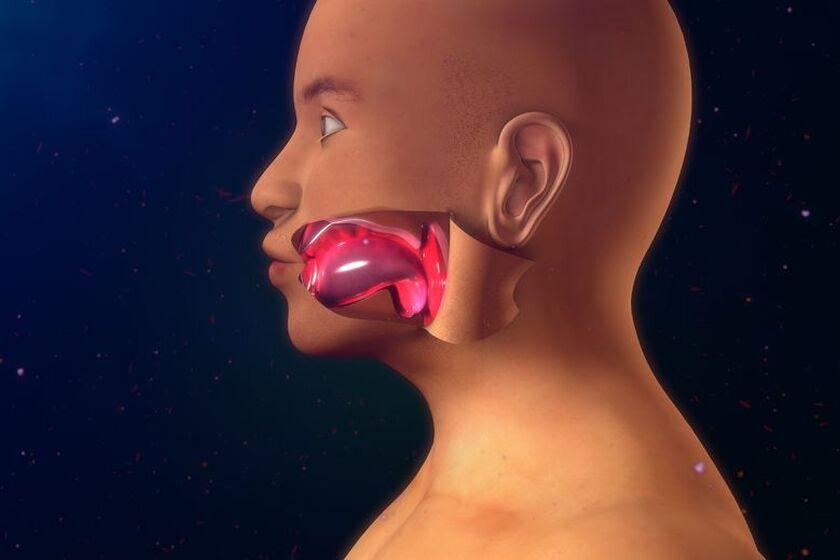 Spuchnięty języczek po alkoholu