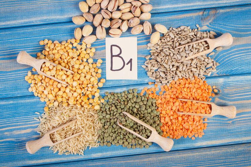 Produkty zawierające witaminę B1