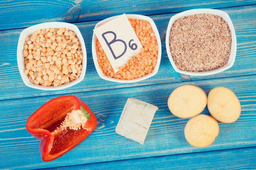 Produkty z wysoką zawartością witaminy B6
