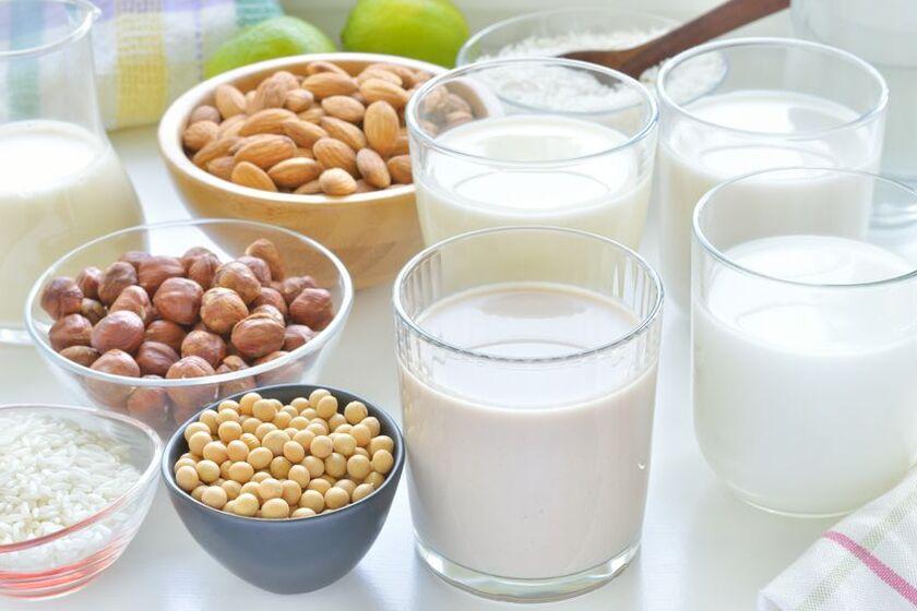 Produkty bogate w laktozę